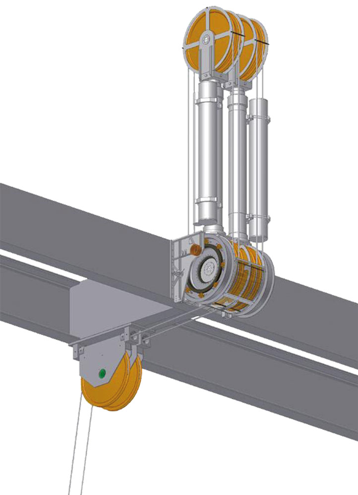 HUNGER Hydraulics USA Wire line tensioner cylinders